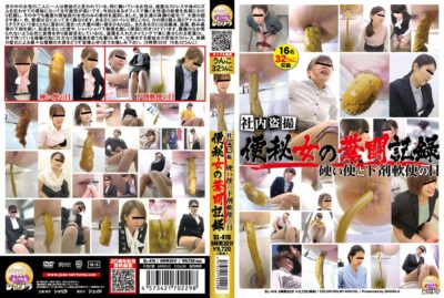 SL-416 | In-house voyeur. Constipation. Woman's feces record. Hard stool and laxative loose stool days.