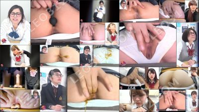 PP-146 | Anal orgasm during class. Fingering schoolgirls' tight assholes.